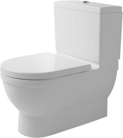 Starck 3 Напольный унитаз в комплекте Big Toilet