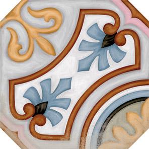 Octogono Diglas Multicolor 20x20