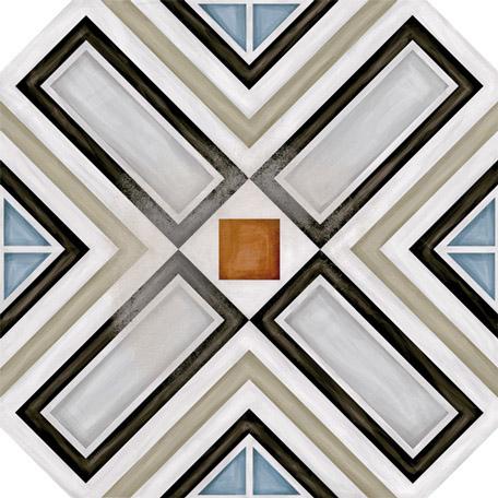 Octogono Ritter Multicolor 20x20